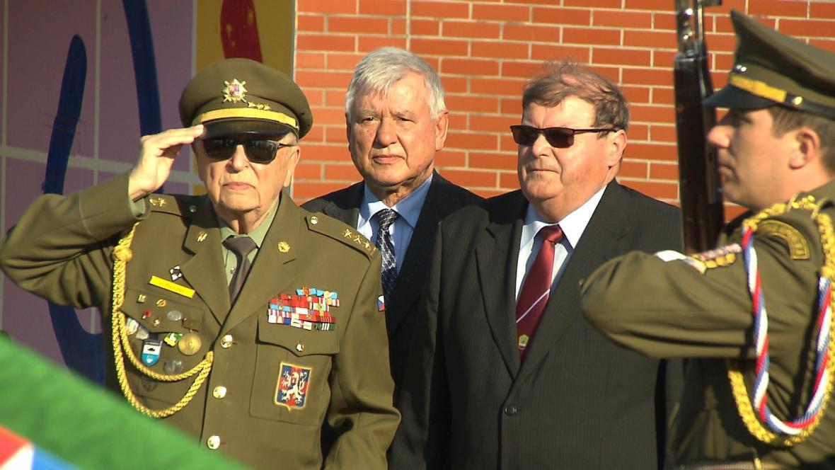 Pietní akc pořádaný Českým svazem bojovníků za svobodu