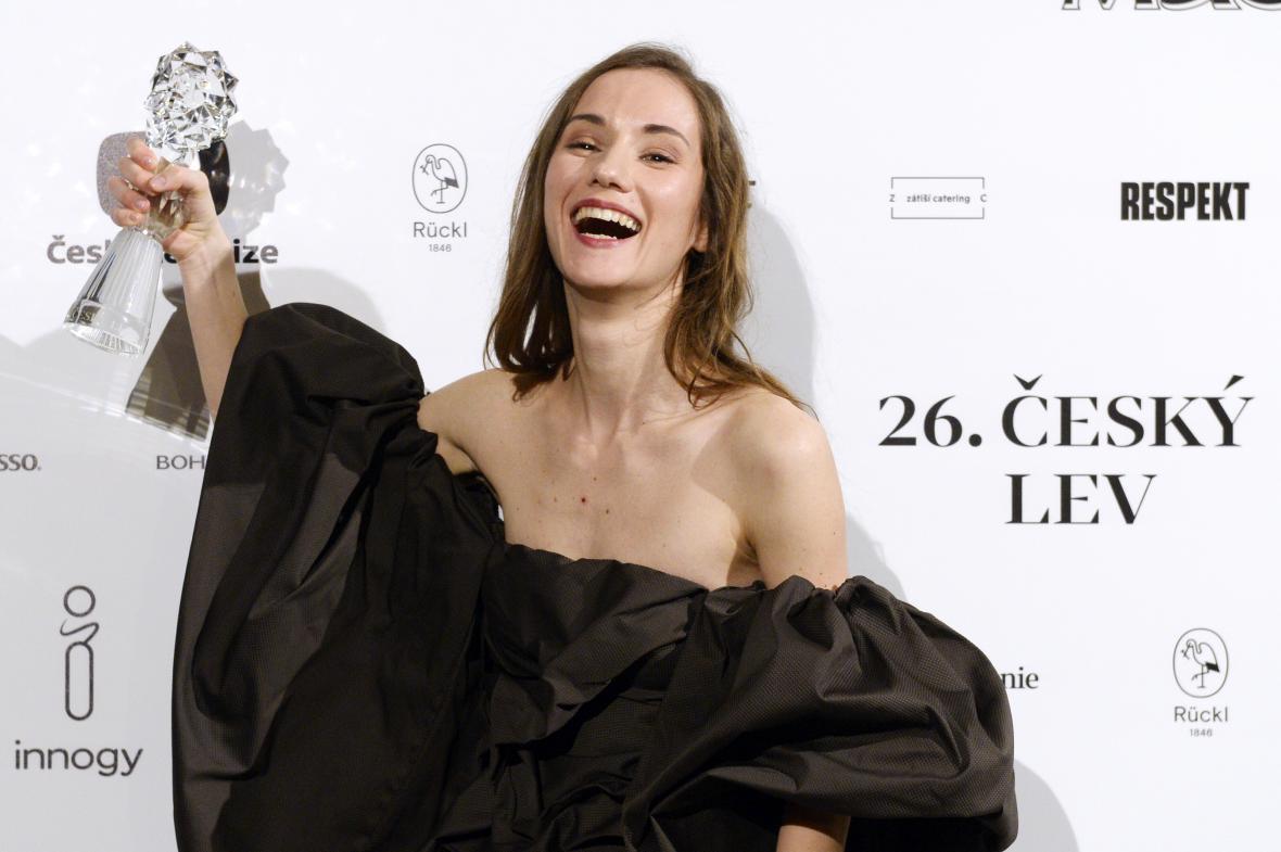 Český lev za rok 2018: Eliška Křenková