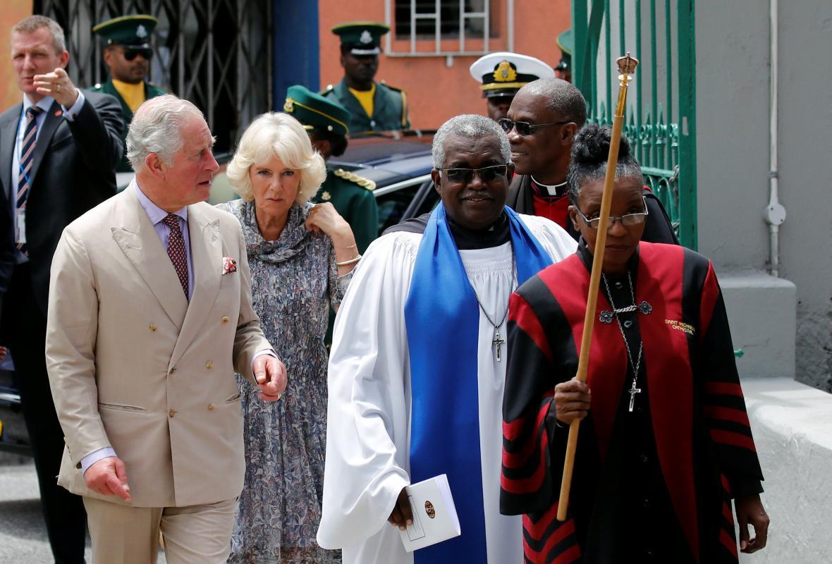Princ Charles s Camillou na návštěvě Kuby