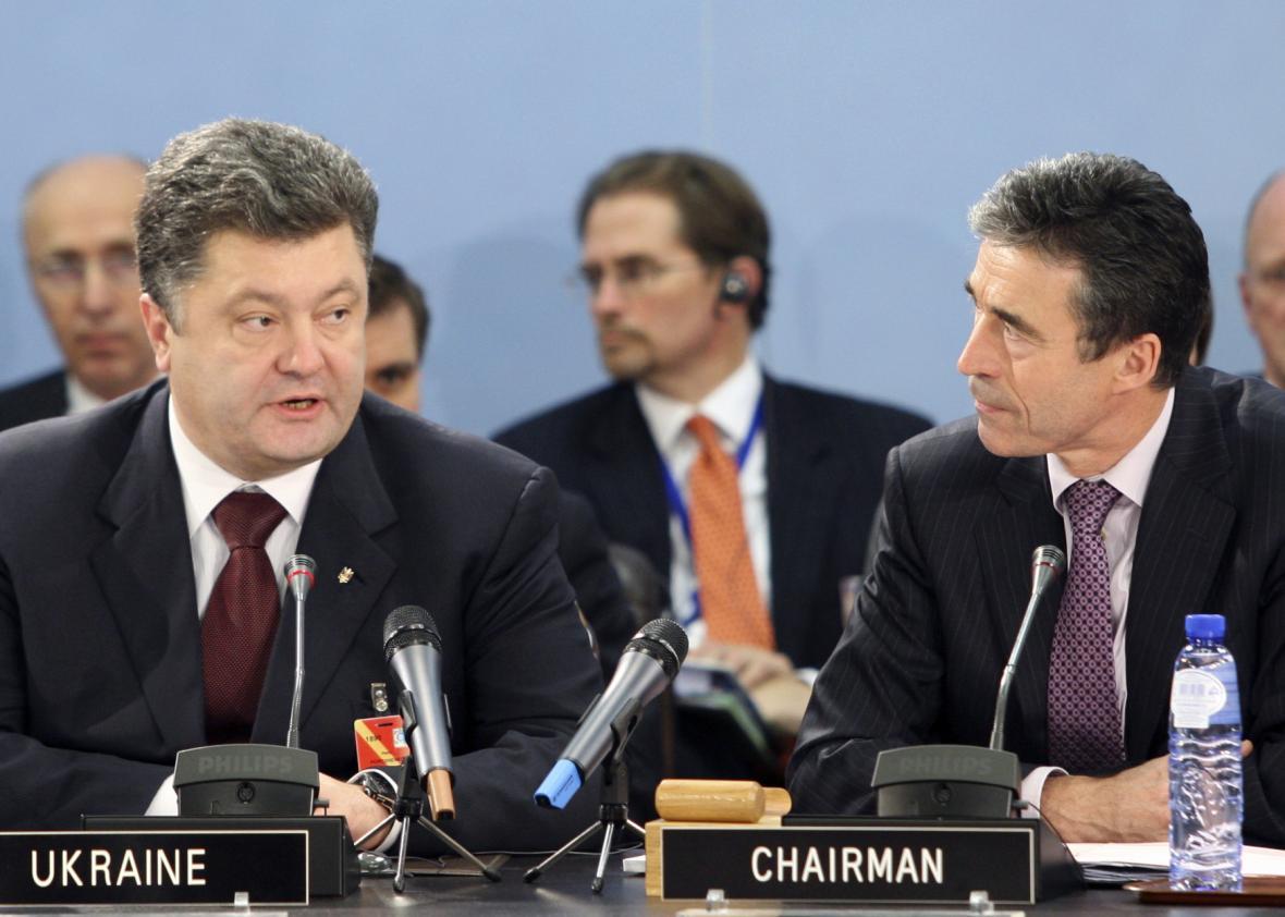 Petro Porošenko jako ministr zahraničí