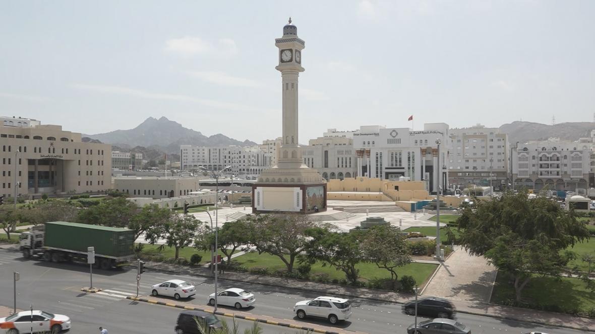 Město Maskat v Ománu