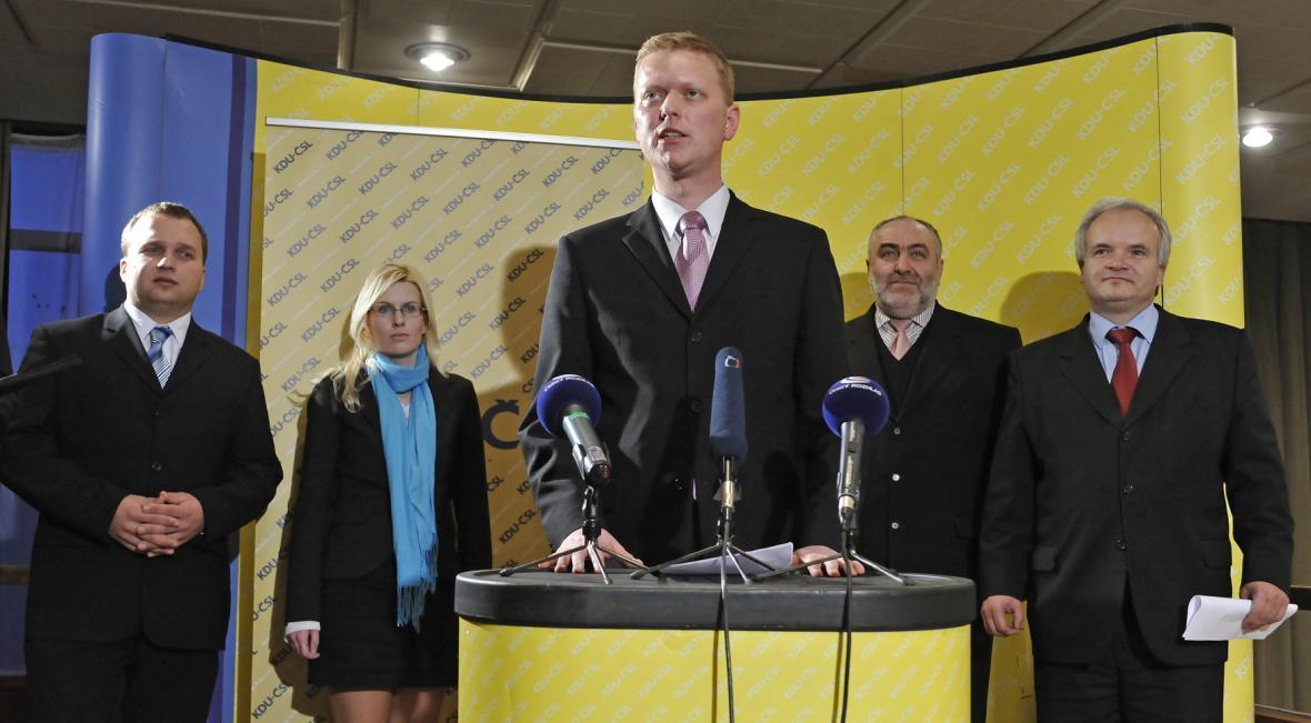Pavel Bělobrádek po zvolení předsedou KDU-ČSL v listopadu 2010