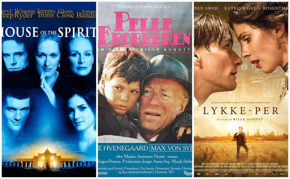 Plakáty k filmům Billeho Augusta