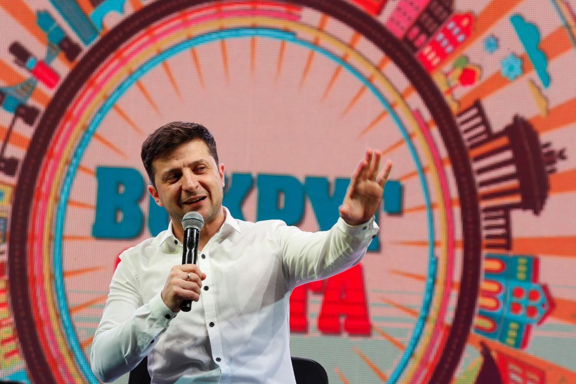 Výsledek obrázku pro zelenskij ukrajina Klub vtipných a pohotových (KVN