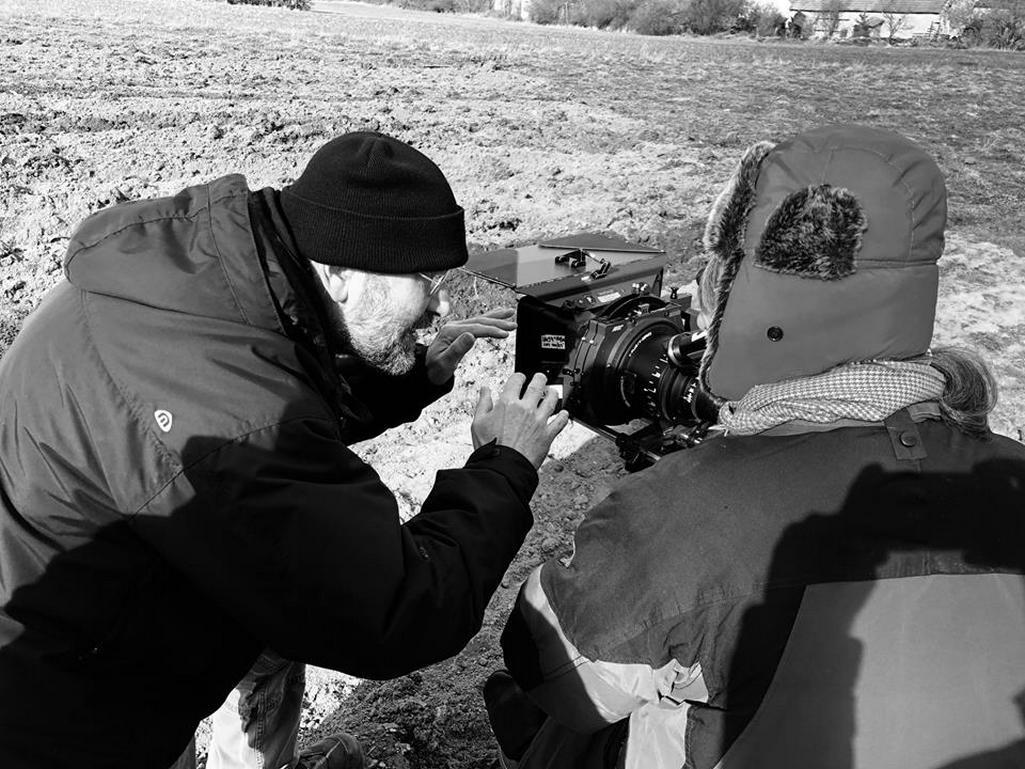 Natáčení filmu Krajina ve stínu