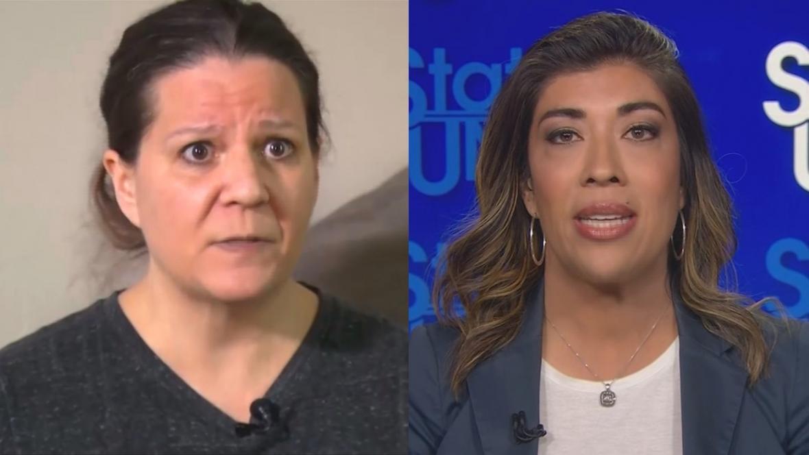Lucy Floresová a Amy Lapposová nařkly Bidena z nevhodného chování