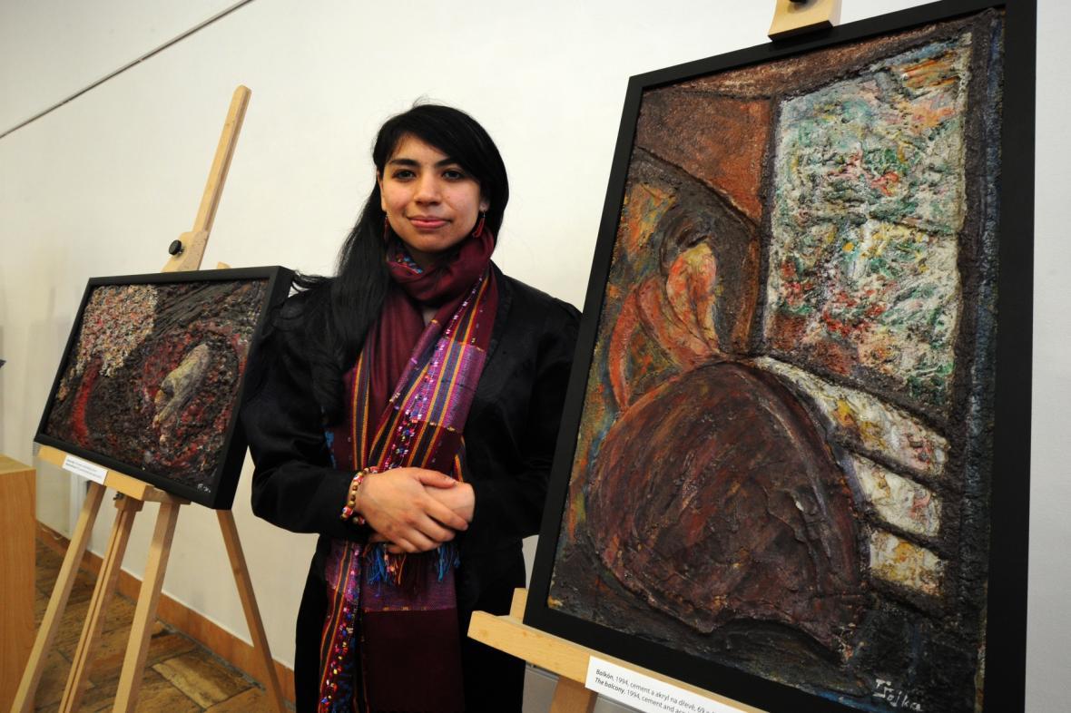 Vnučka umělkyně Gabriela Steinitzová