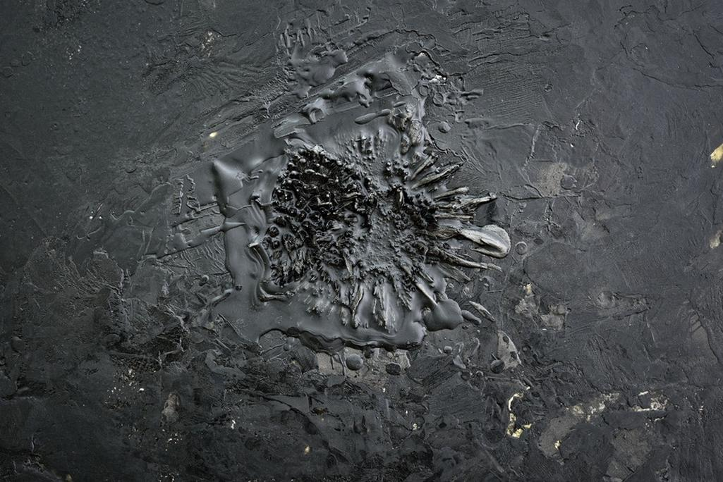 Z výstavy Daniela Vlčka Příčiny a následky
