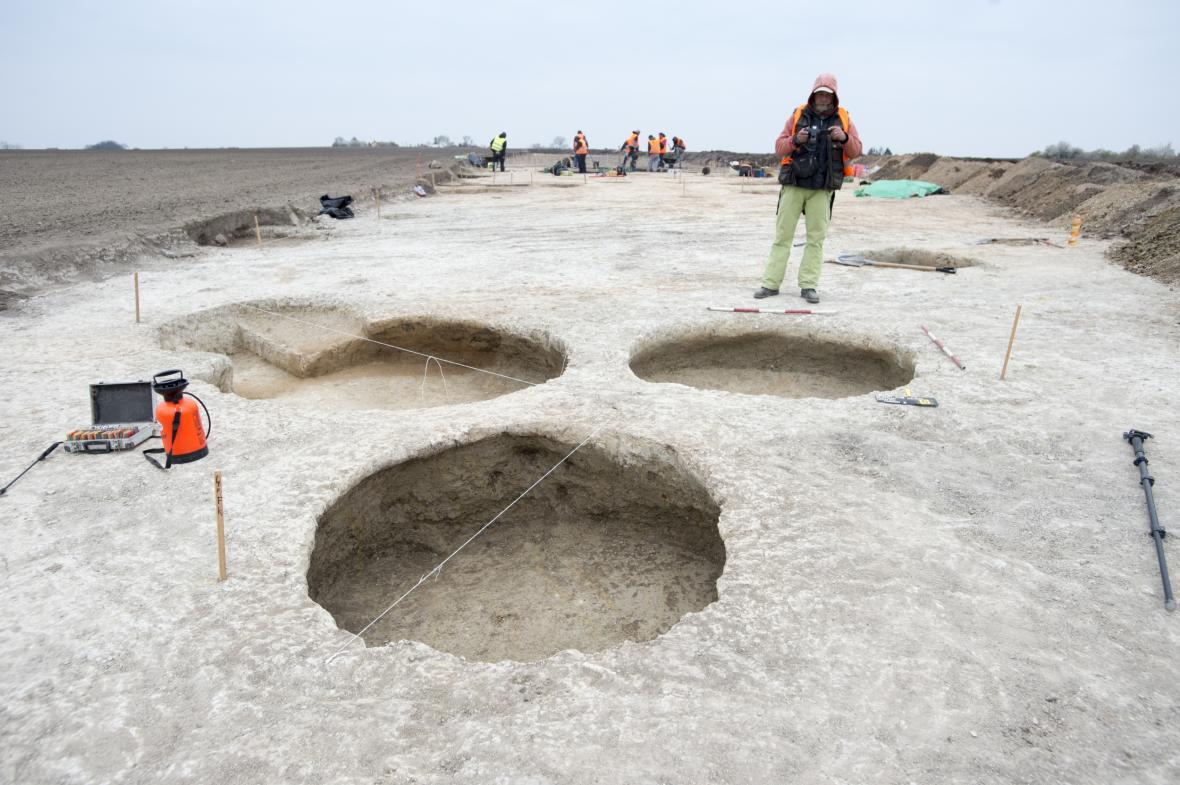Archeologický průzkum na místě budoucího obchvatu Chrudimi