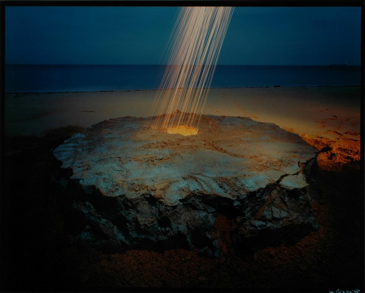 Jan Pohribný / Z cyklu Nová doba kamenná, Vnitřní světlo, 1993