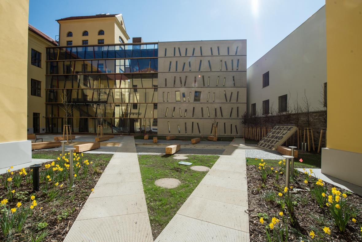Nová budova Městské knihovny Písek