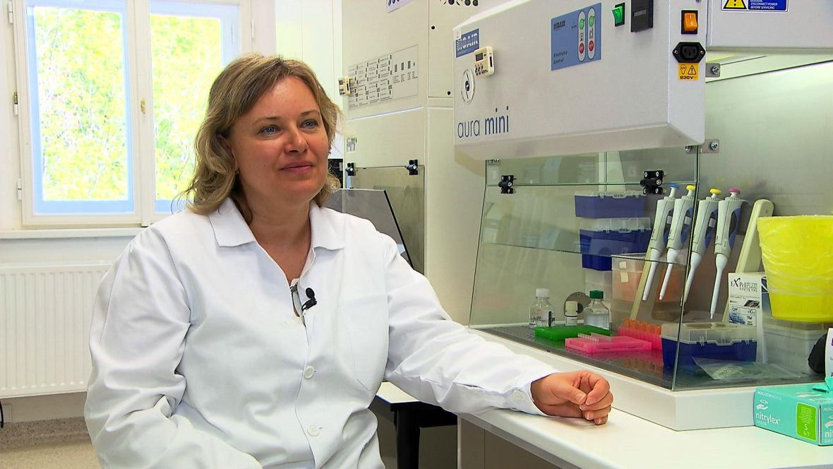 Profesorka Ilona Hromadníková
