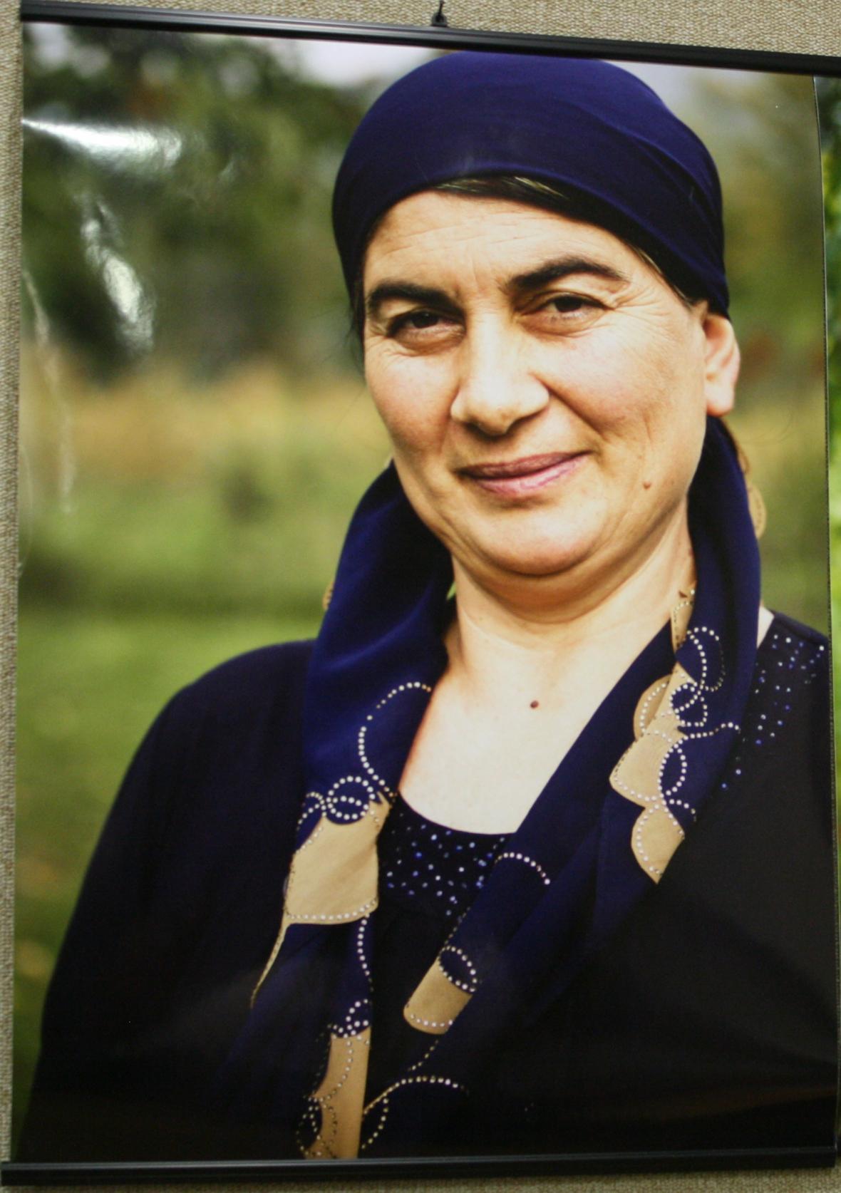 Elza Cichesašviliová na fotografii Gurjeeta Battha