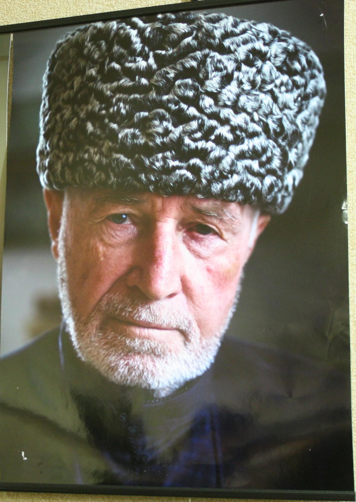 Chaso Changošvili na fotografii Gurjeeta Battha