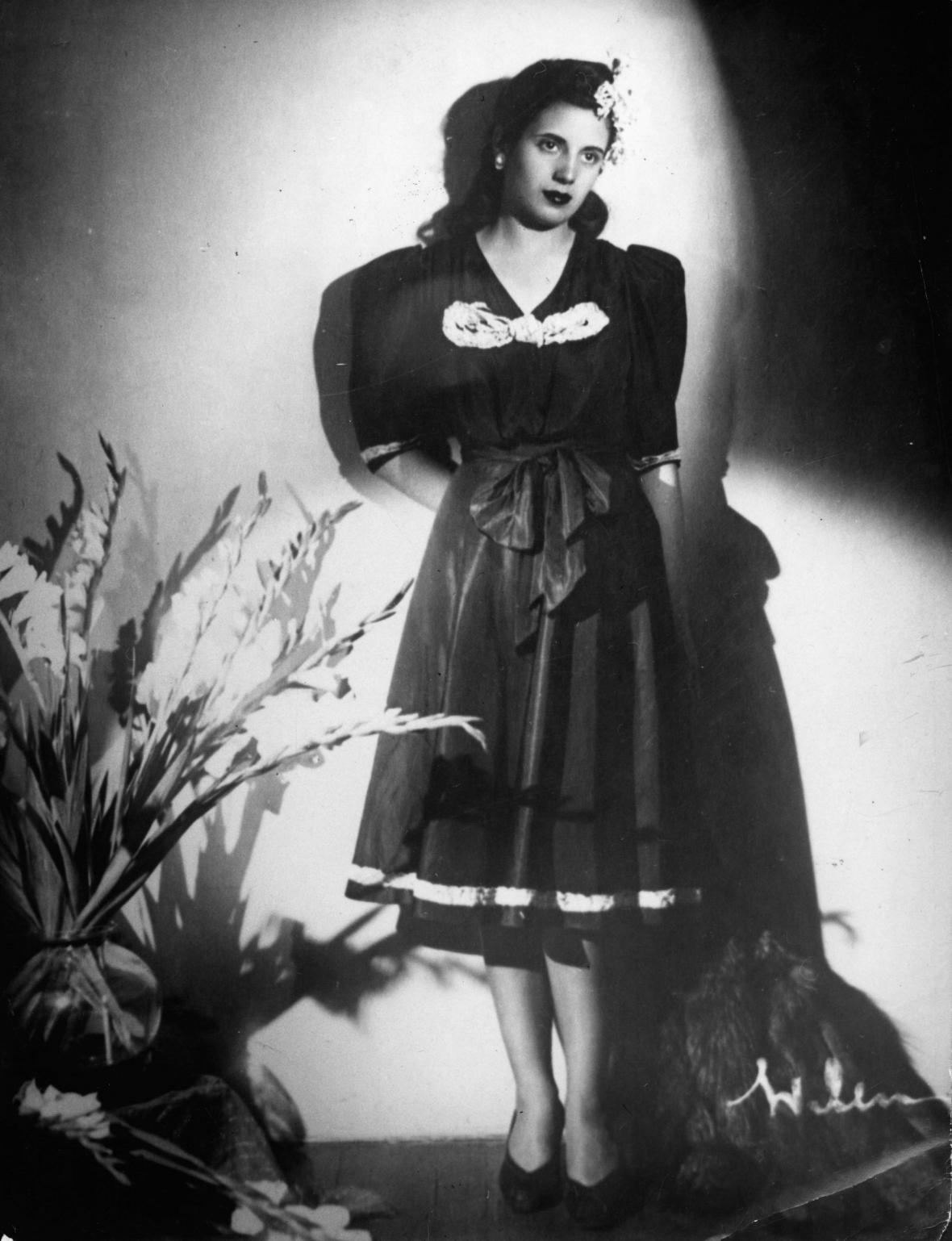 Eva Dutarteová na portrétu z roku 1938