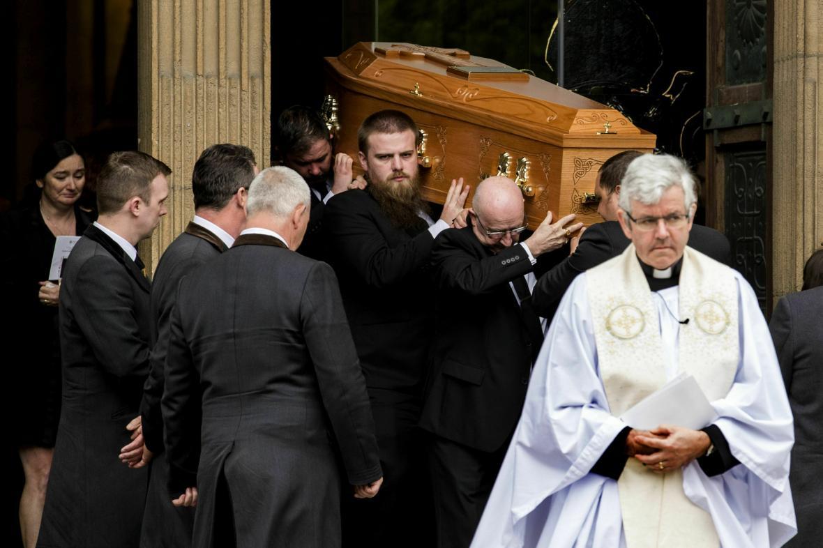 Pohřeb Lyry McKeeové