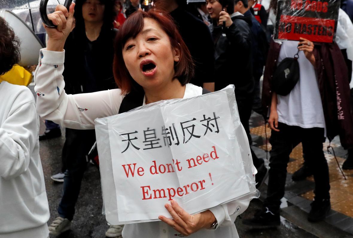 Protesty proti císaři
