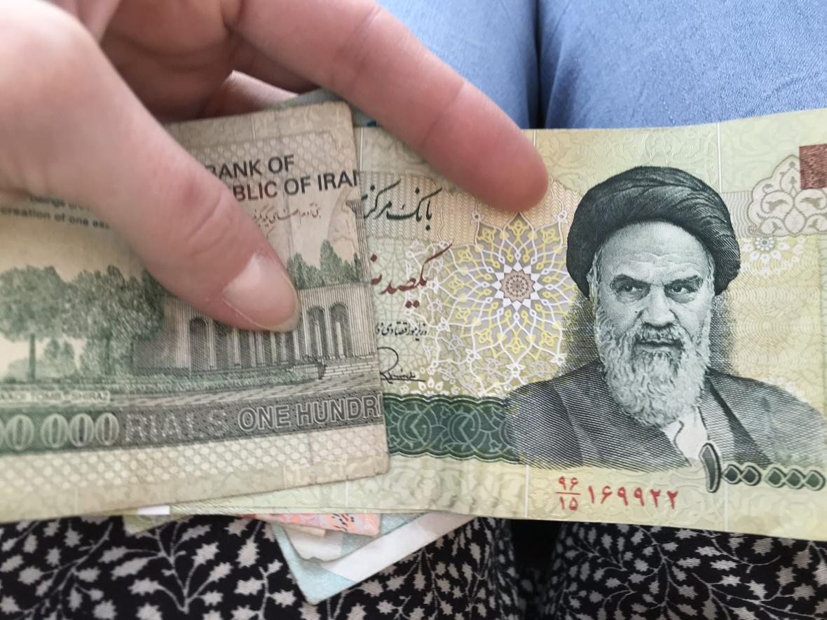 Íránské riály