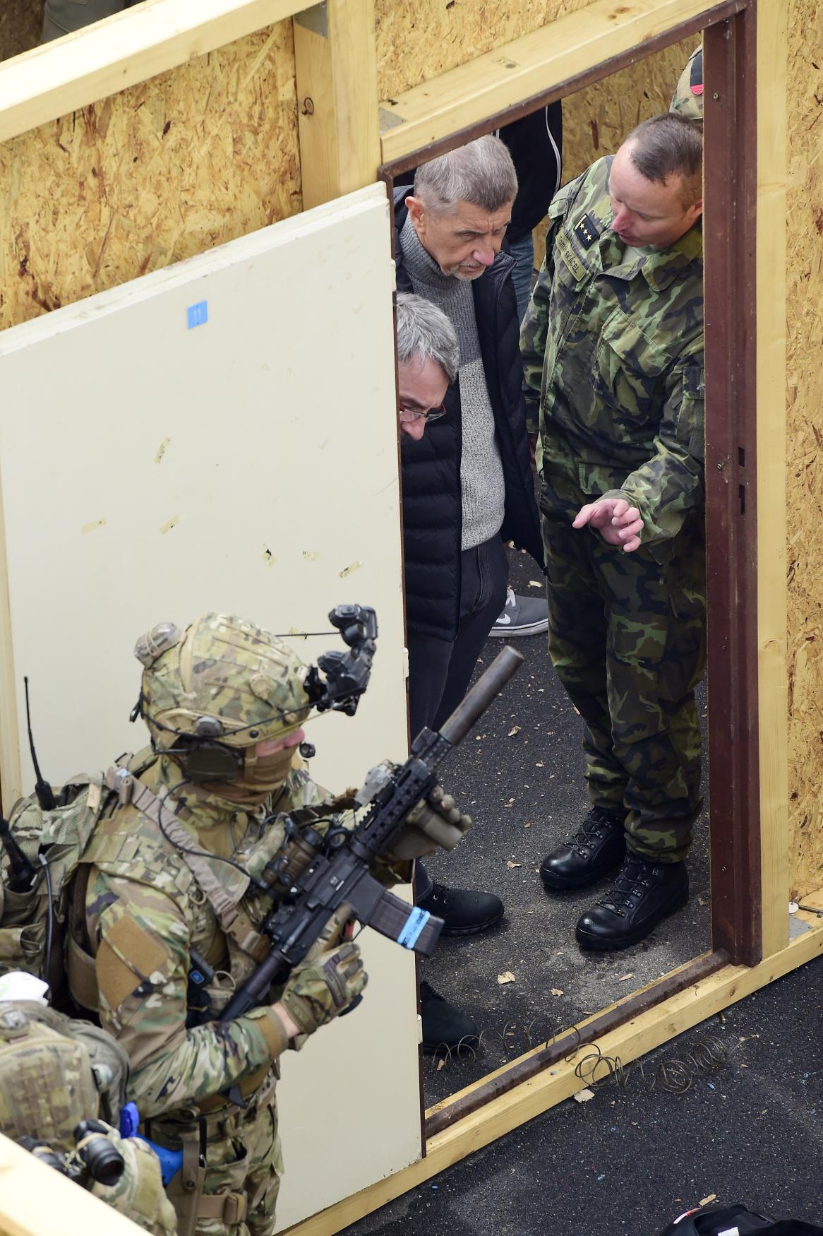 Ukázka vojenské akce