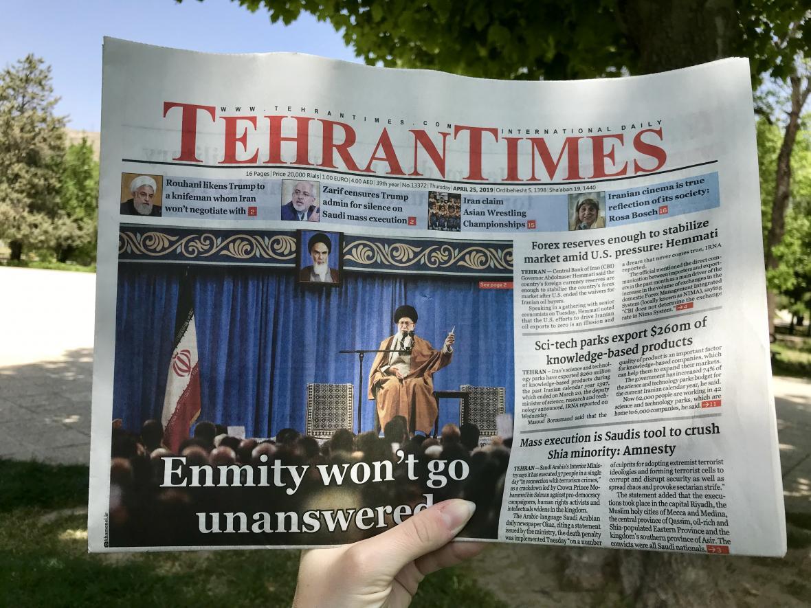 Íránský deník Tehran Times