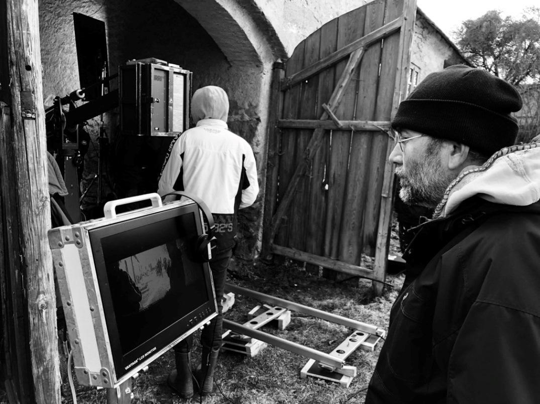 Natáčení filmu Krajinu ve stínu