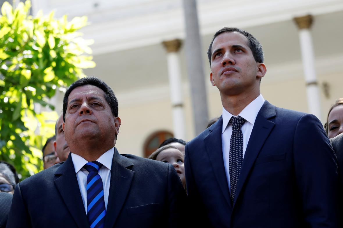 Edgar Zambrano a Juan Guaidó