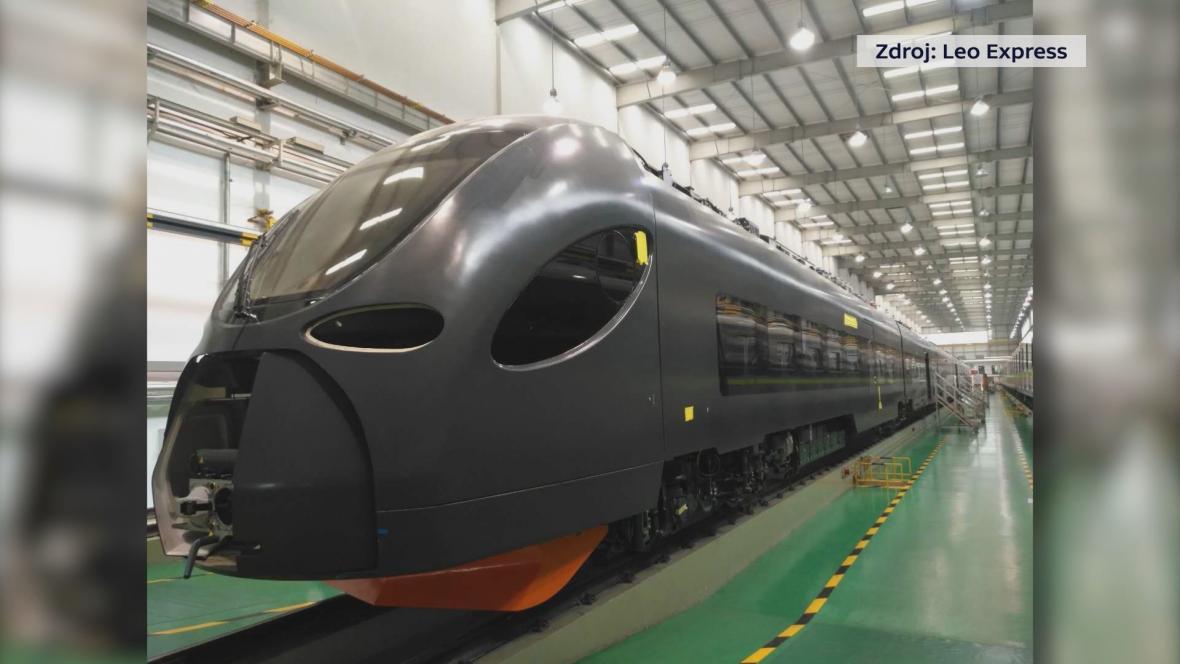 Nová elektrická jednotka pro Leo Express