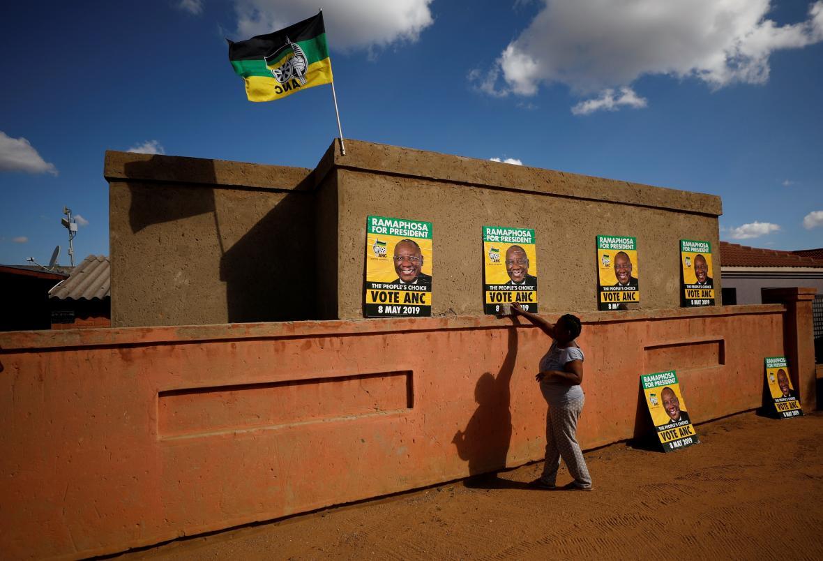 Volby v JAR znovu vyhrál Africký národní kongres