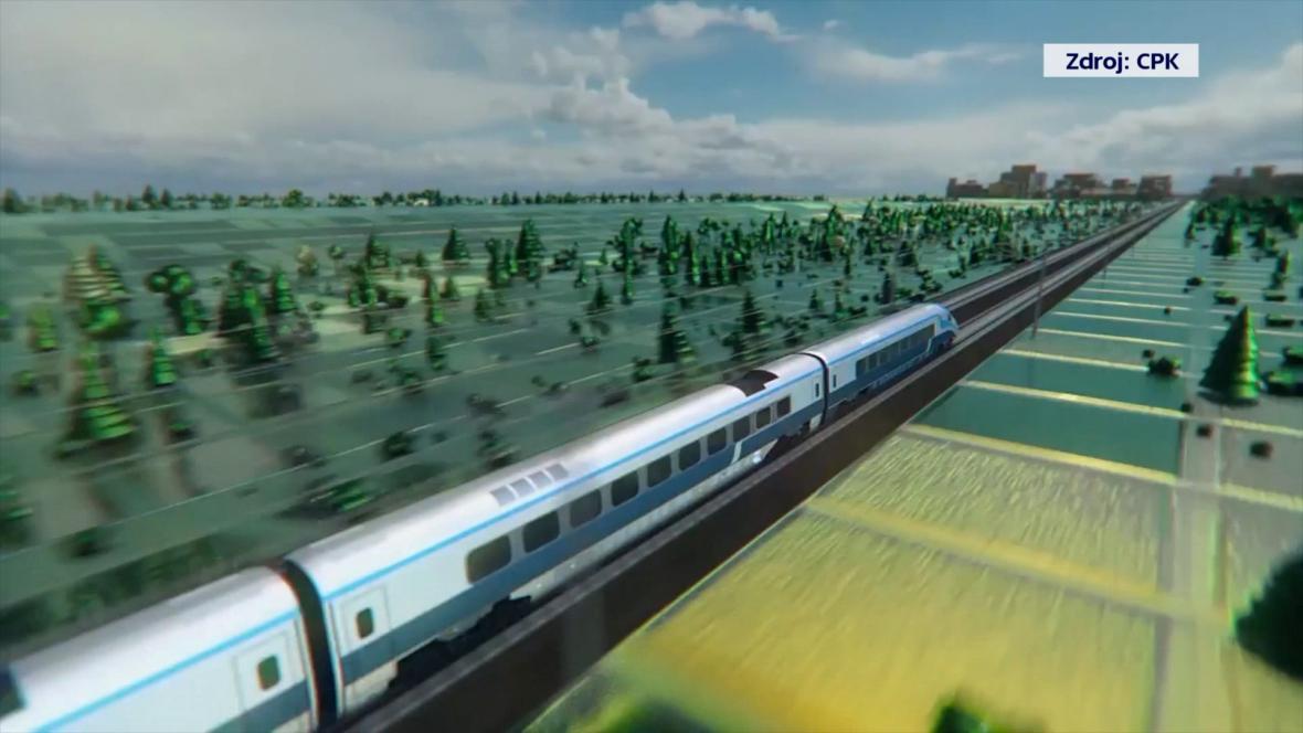 Polsko chce vybudovat také nádraží pro vysokorychlostní vlaky