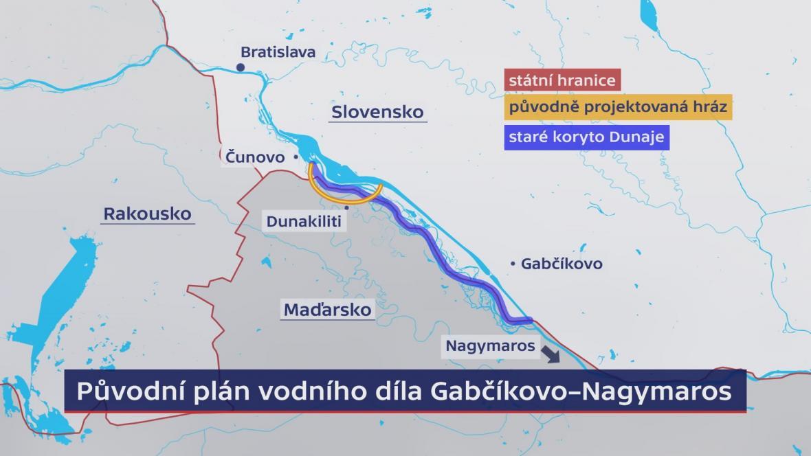 Plán vodního díla Gabčíkovo – Nagymaros