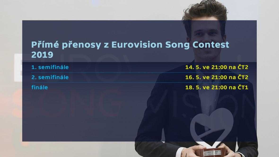 Eurovision Song Contest 2019 na ČT