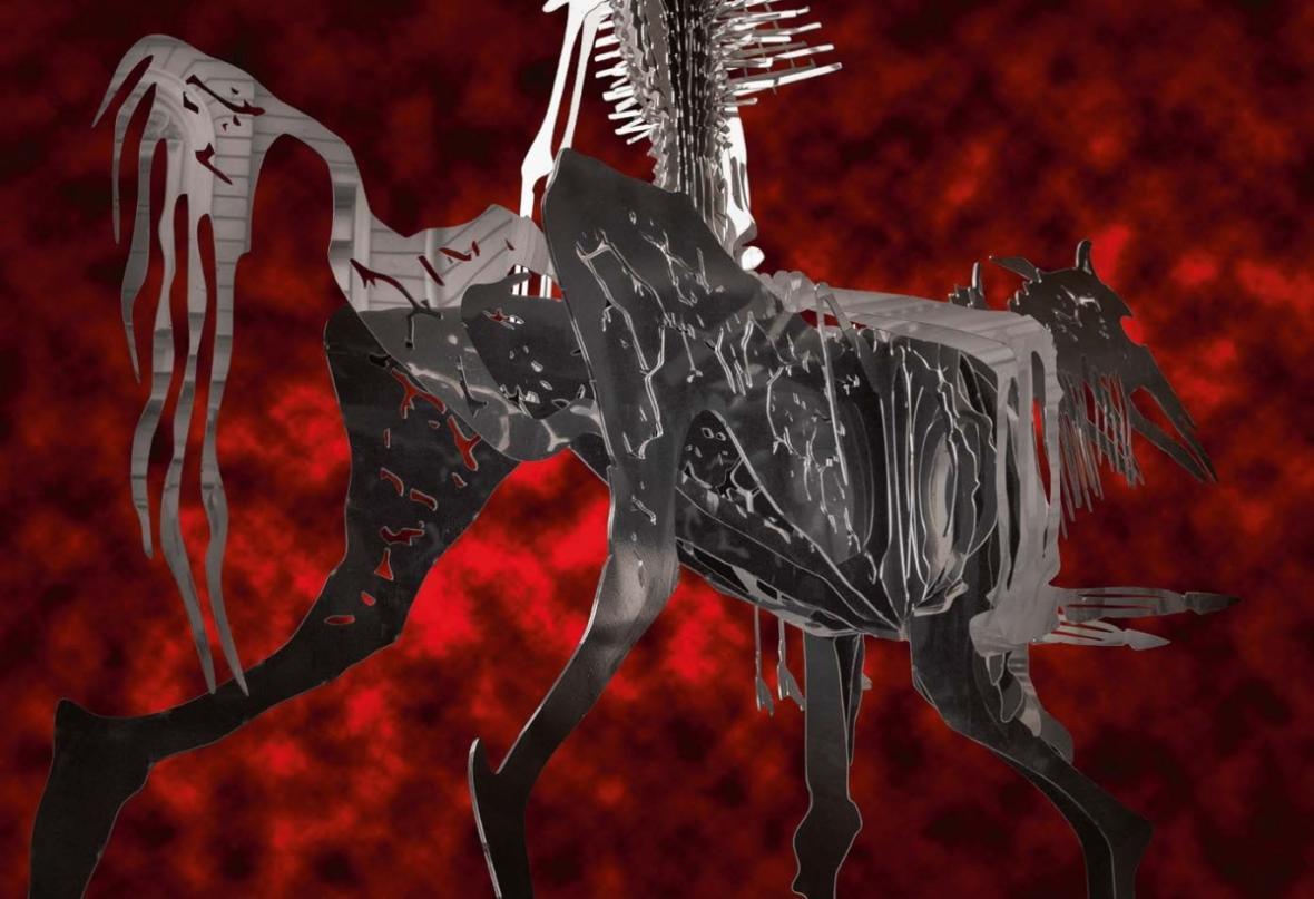 In Dante Veritas od ruského umělce Vasilije Kljukina