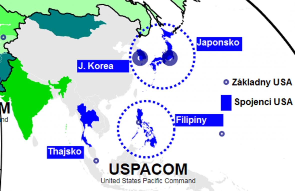 Americká vojenská přítomnost v západním Pacifiku