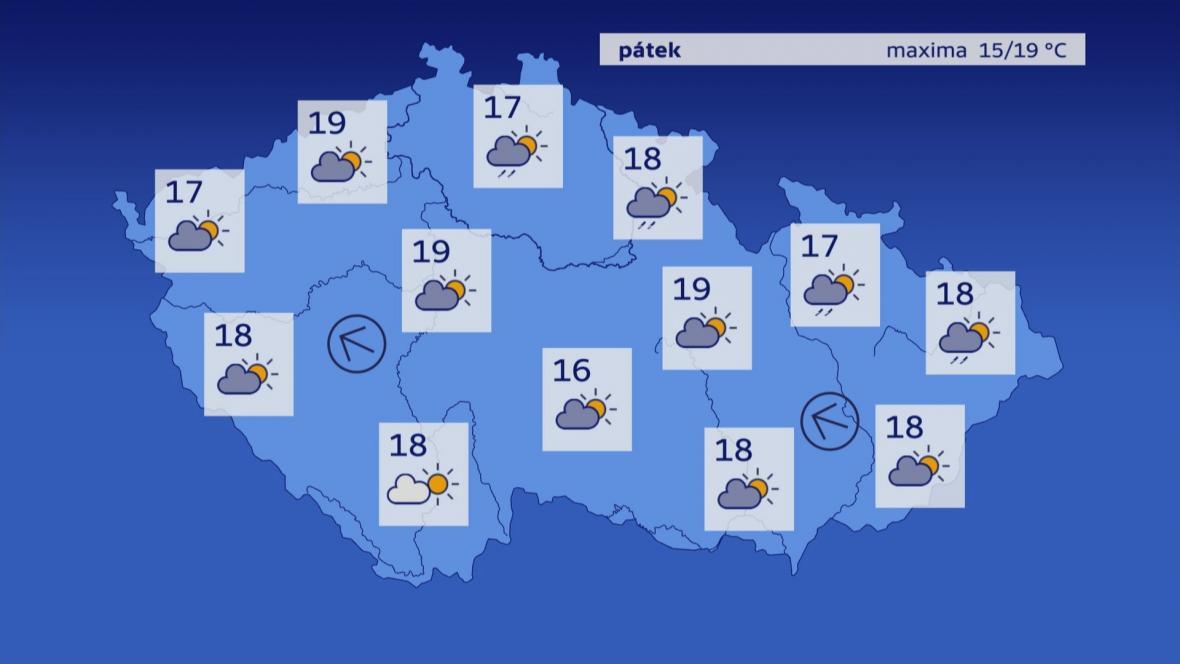 Počasí 17. 5.