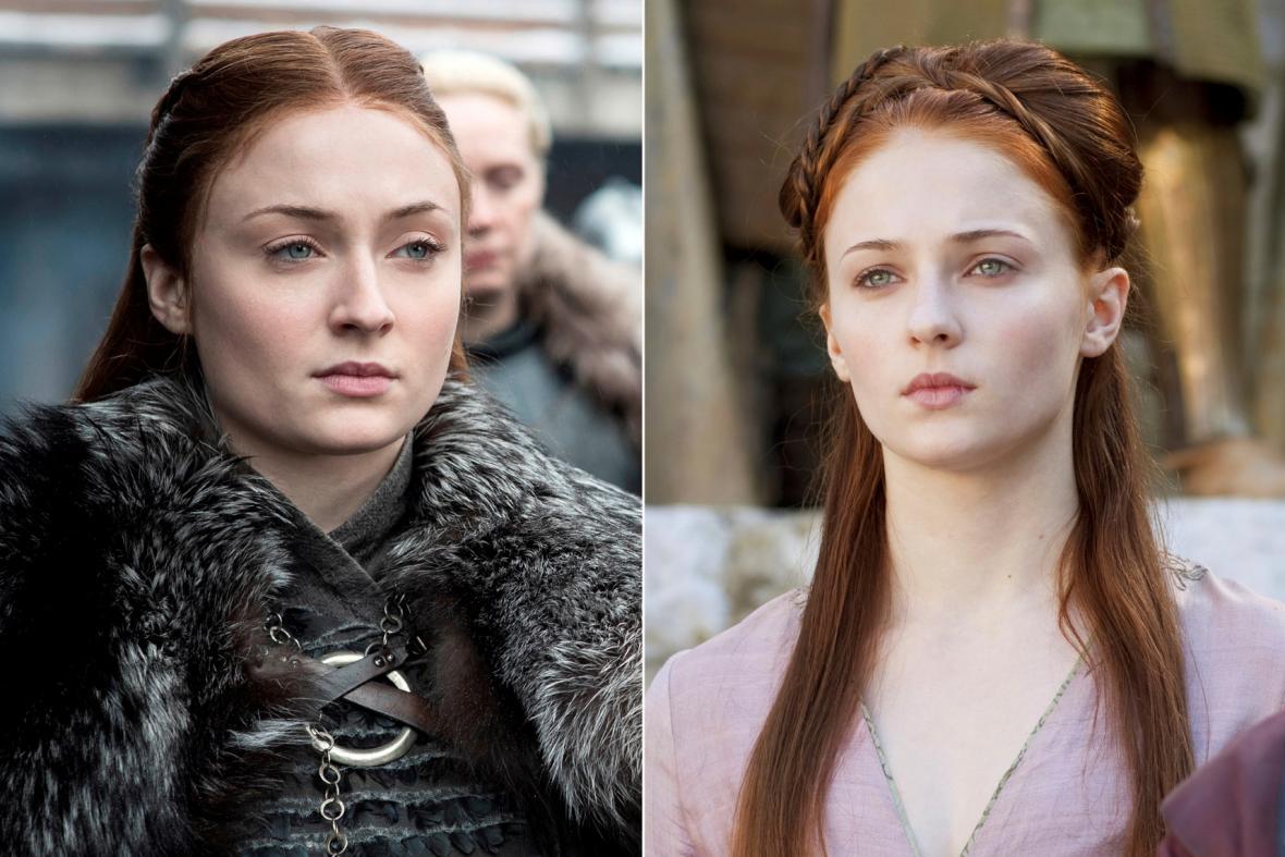 Sophie Turnerová jako Sansa Stark