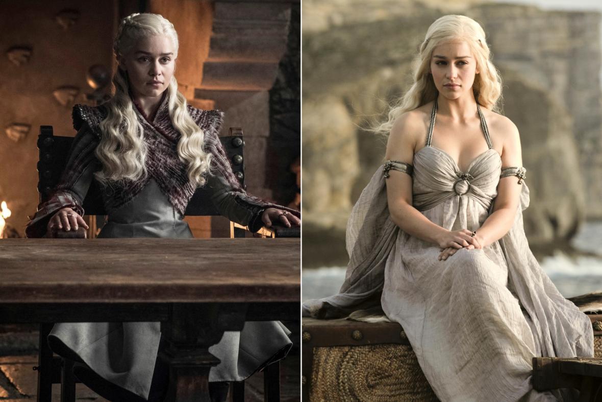 Emilia Clarková jako Daenerys Targaryen