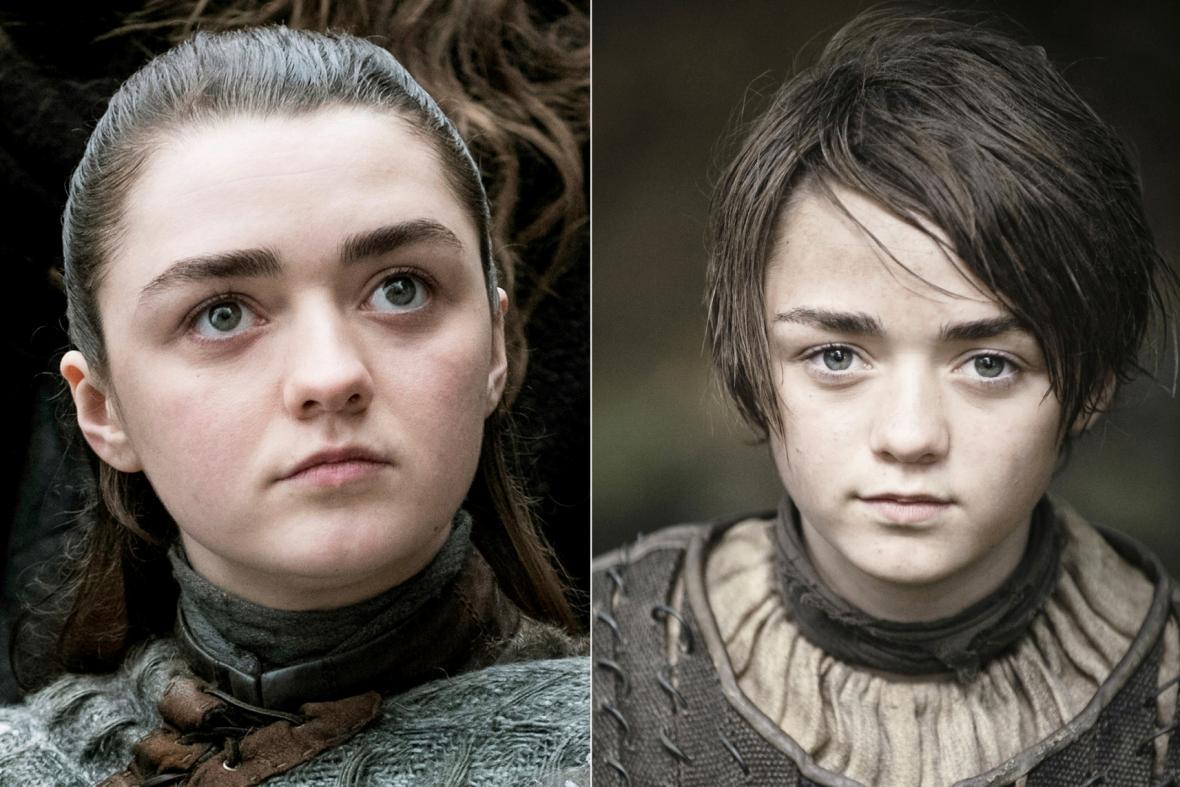 Maisie Williamsová jako Arya Stark