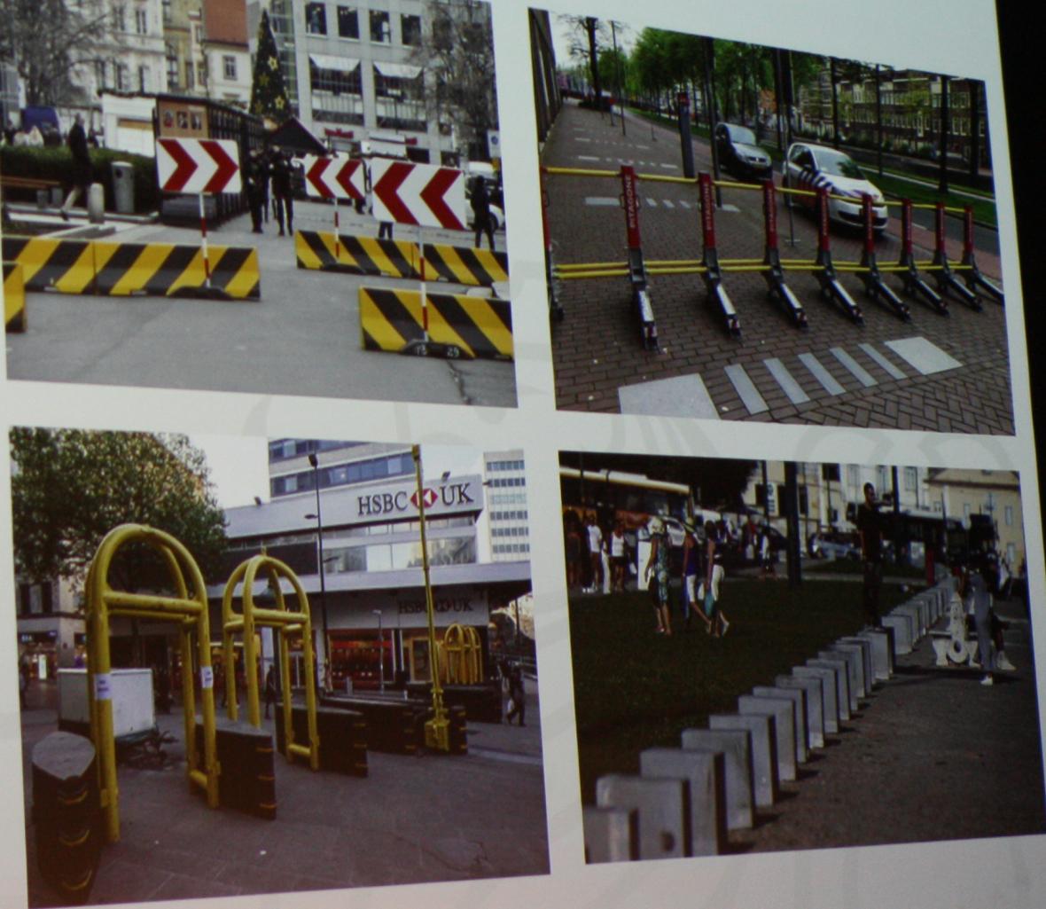 Typy mobilních bariér