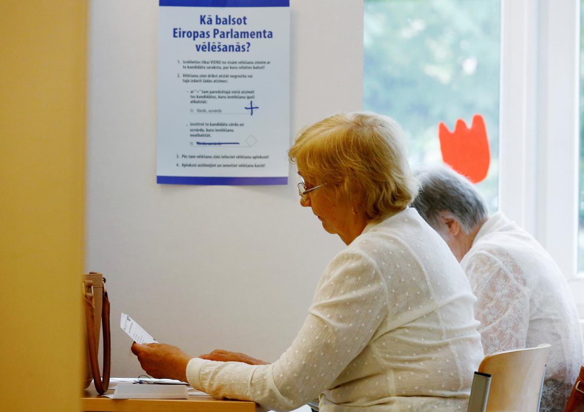 Volby v Lotyšsku