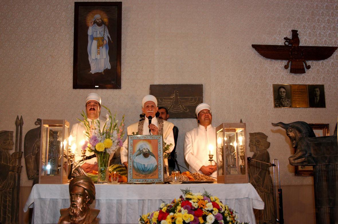 Zoroastrijští duchovní