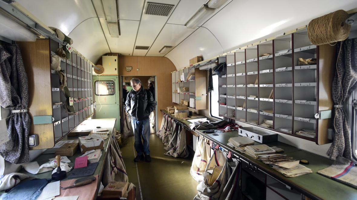 Vůz vlakové pošty