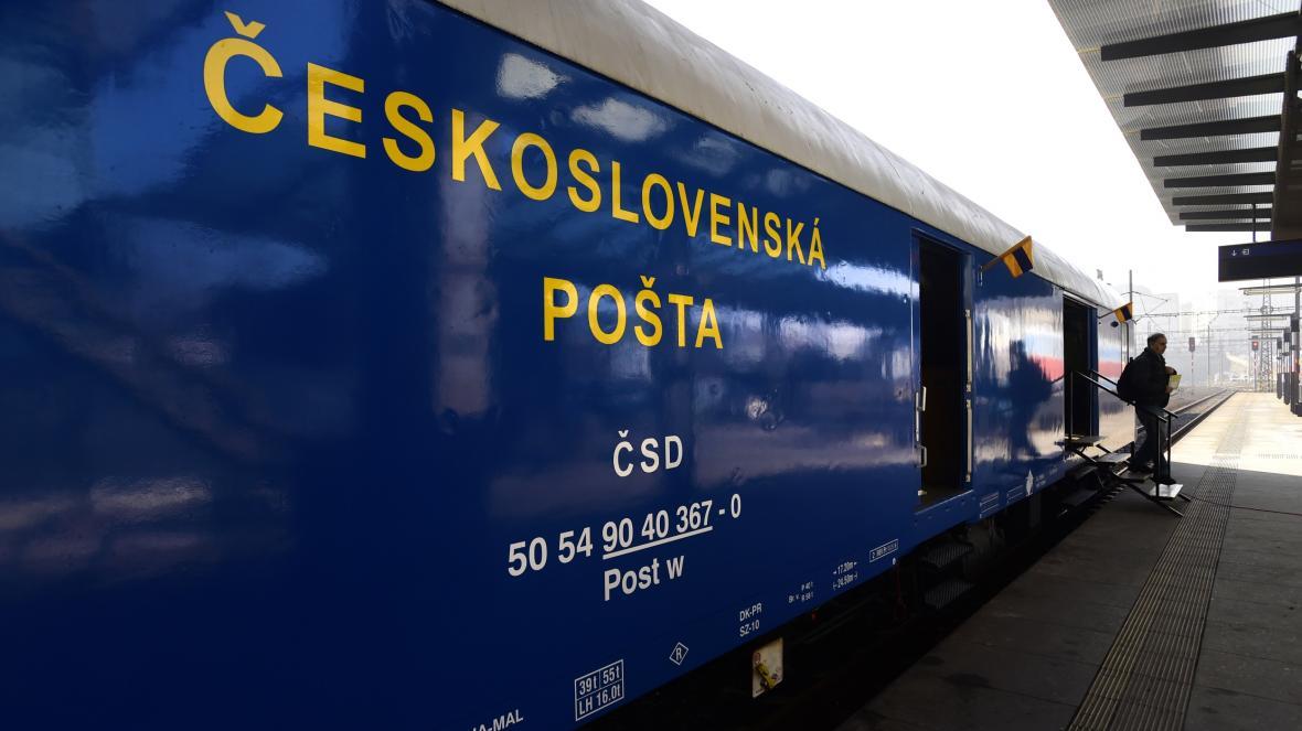 Vlaková pošta