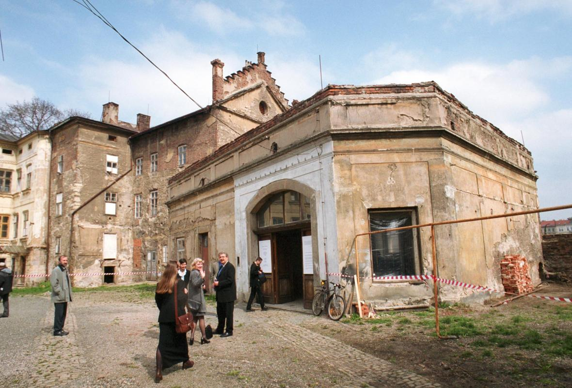 Sovovy mlýny před rekonstrukcí