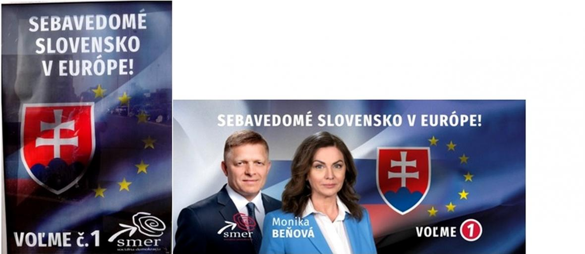 Kampaň strany Smer-SD