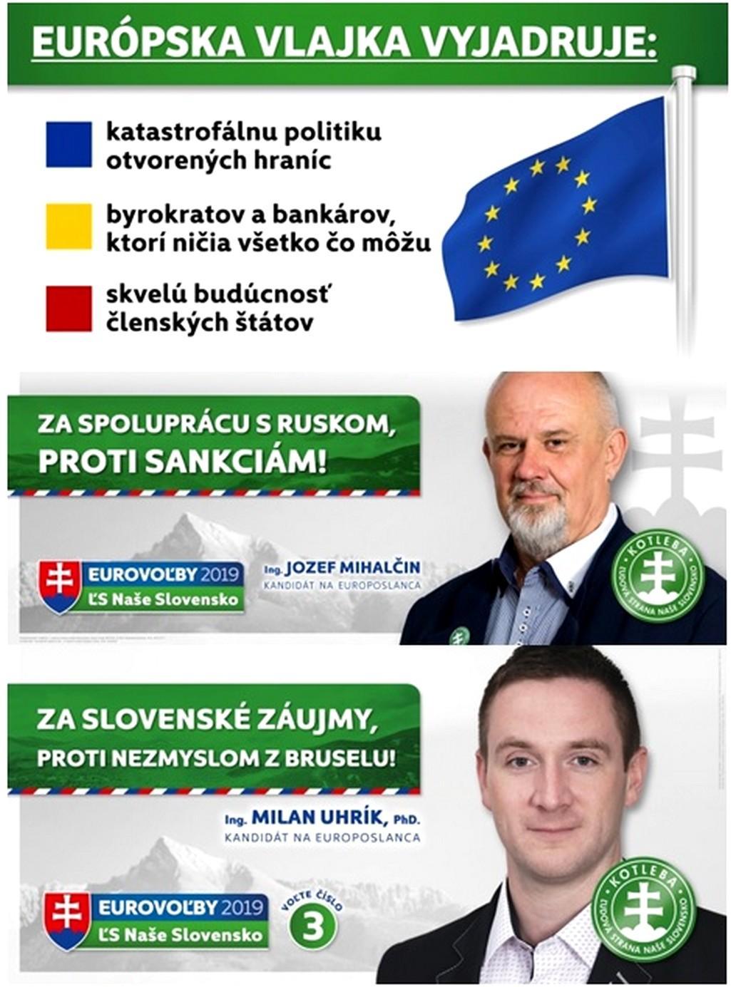 Kampaň strany Kotleba-LSNS