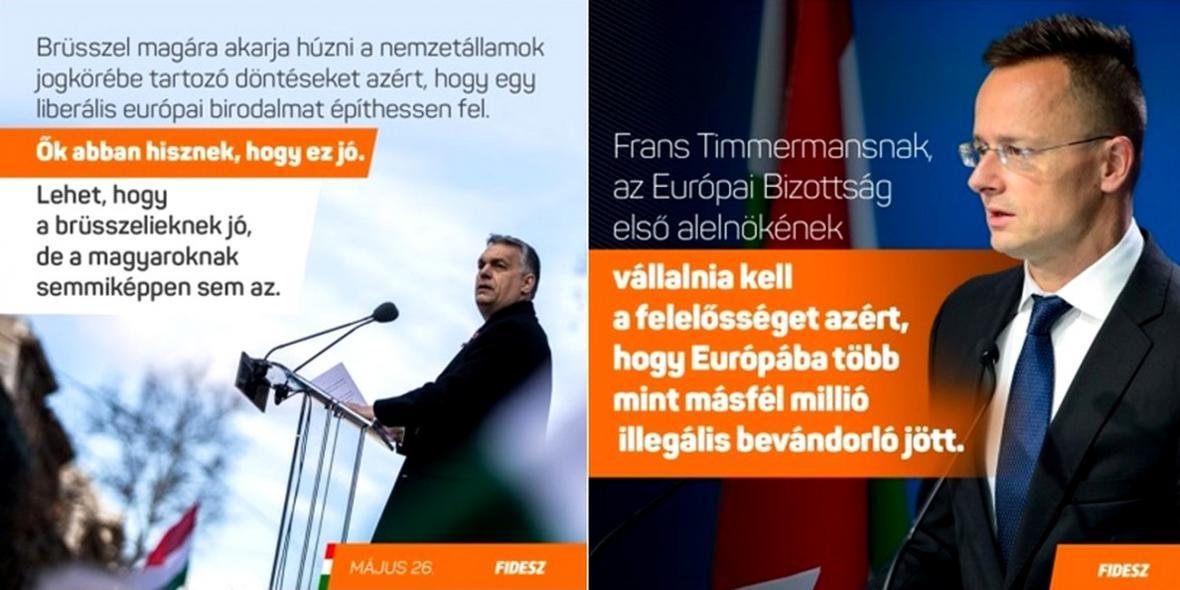 Kampaň strany Fidesz