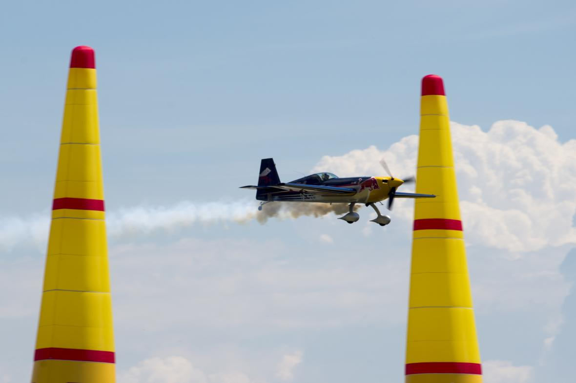 Ukázka Red Bull Air Race Demo