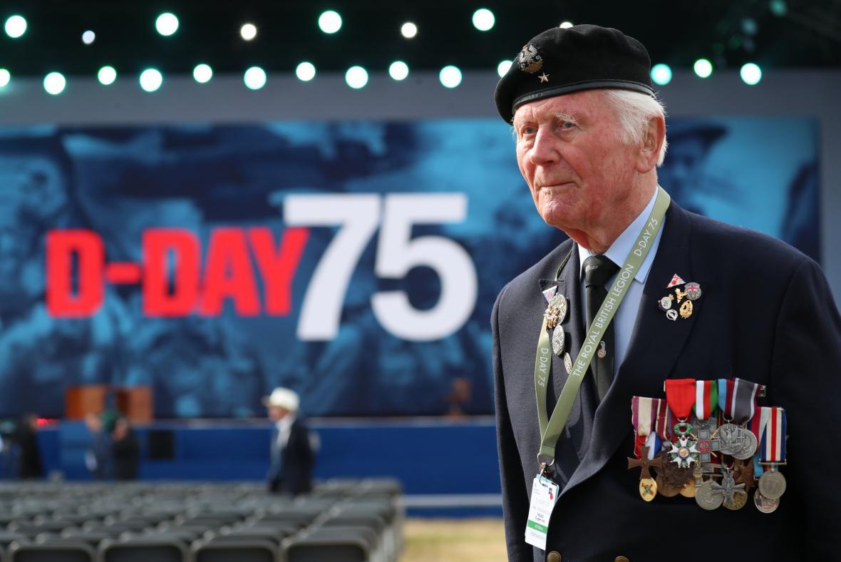 Jeden z válečných veteránů Eugeniusz Nead