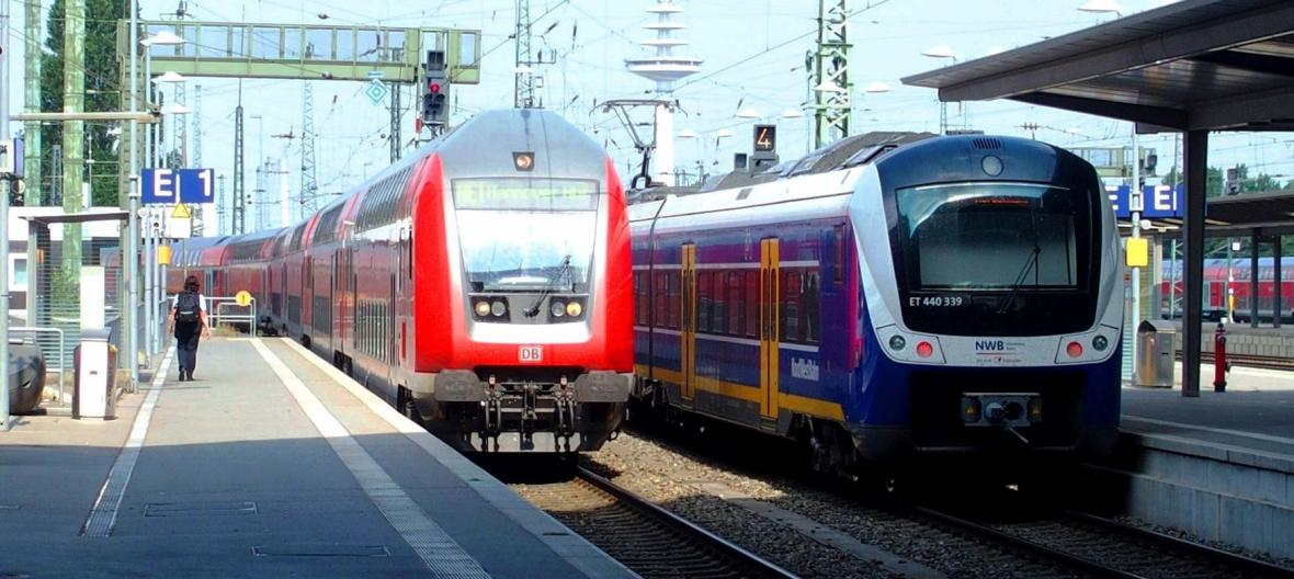 Německé regionální vlaky