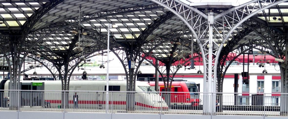 Vlaky v Kolíně